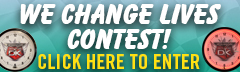 We Change Lives Contest!