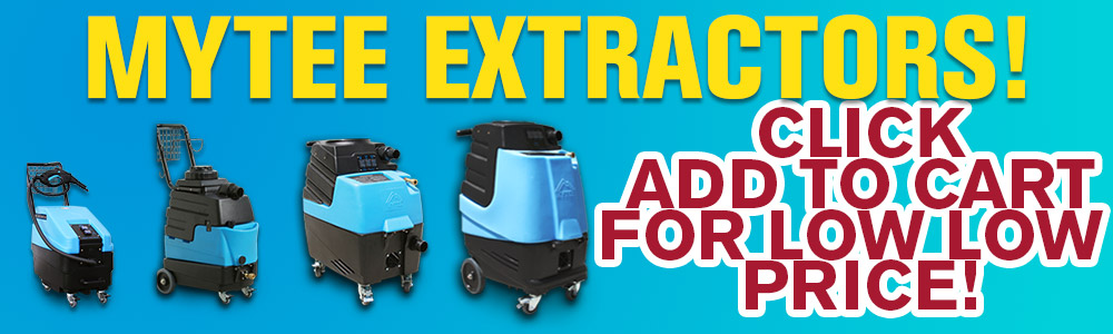 Mytee Extractors - Add to Cart for Low Price