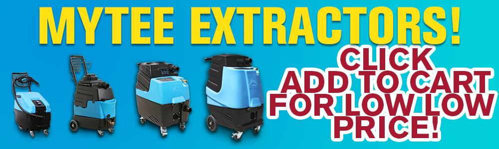 Save Big On Mytee Carpet Extractors!
