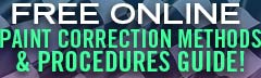 Paint Correction Methods & Procedures Guide