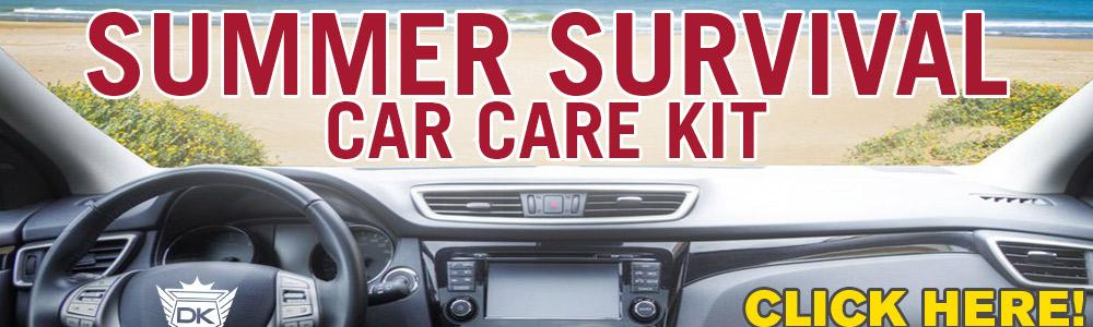 Summer Survival Car Care Kit