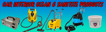 Interior Cleaning & Sanitize Items
