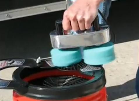 Pad Washer Machine Video