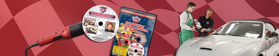 Auto Detailing Training DVDs