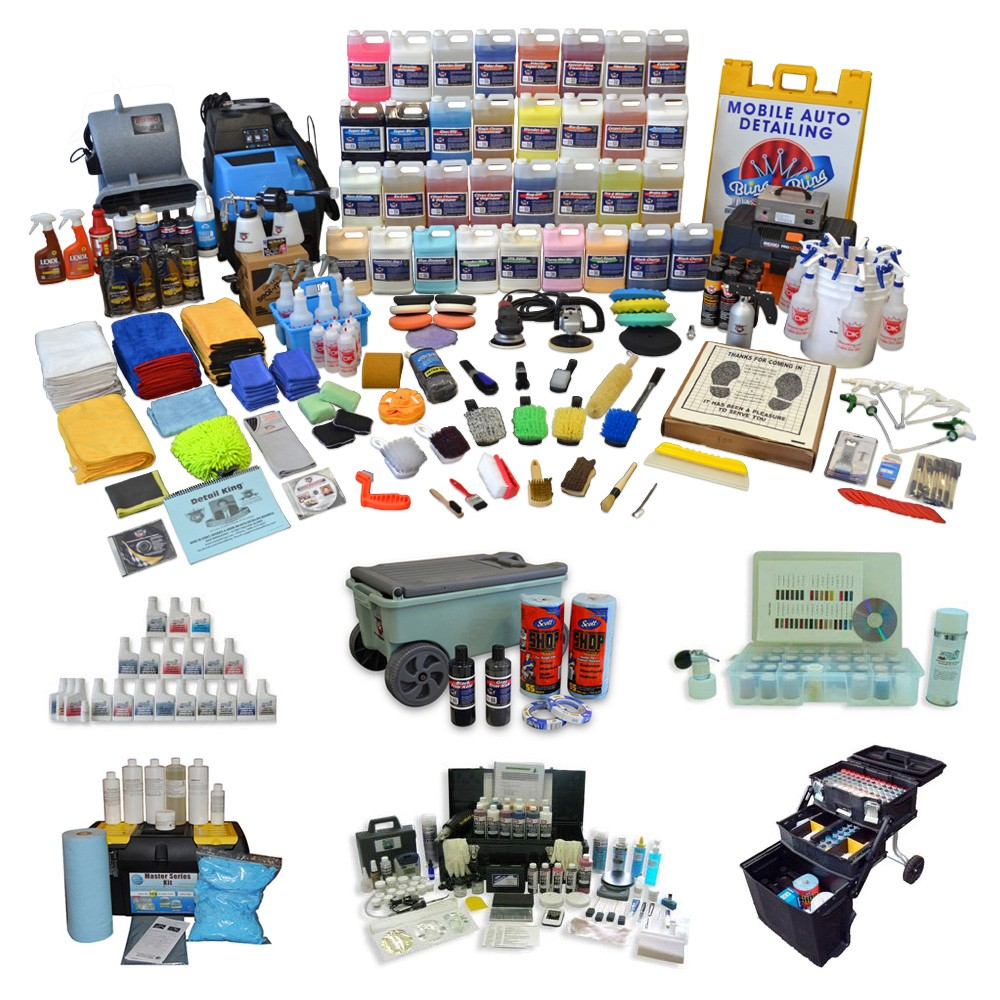 Auto Detailing Start Up Kits For A Detailing Business