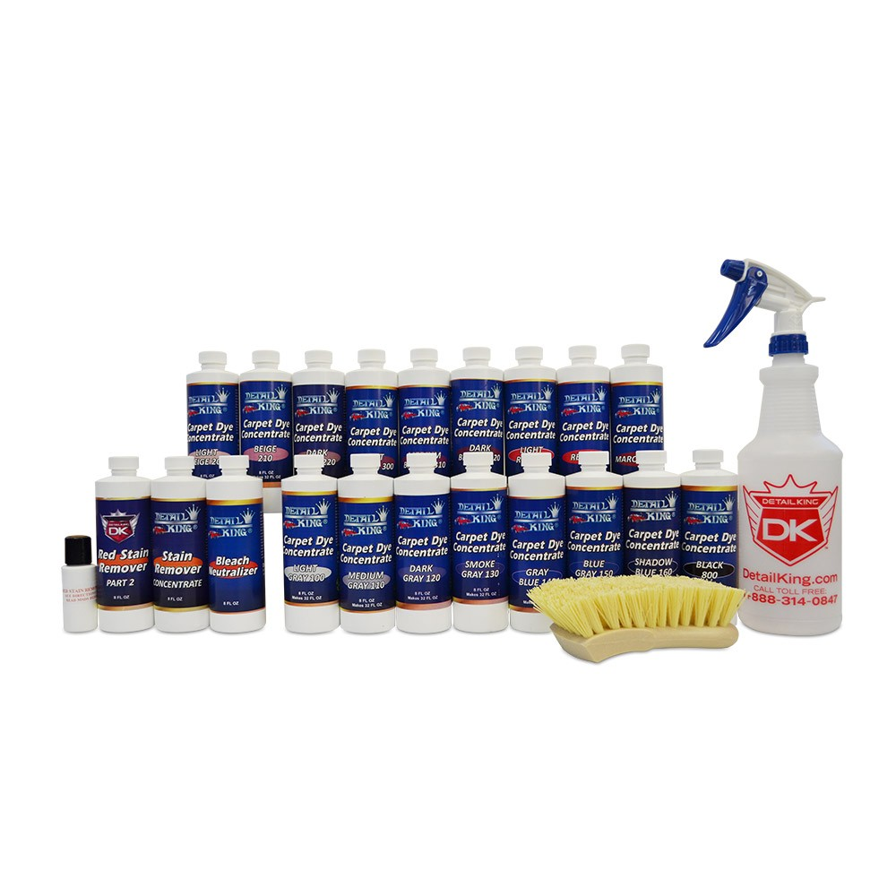 Automotive Carpet Dyes and Kits - Detail King