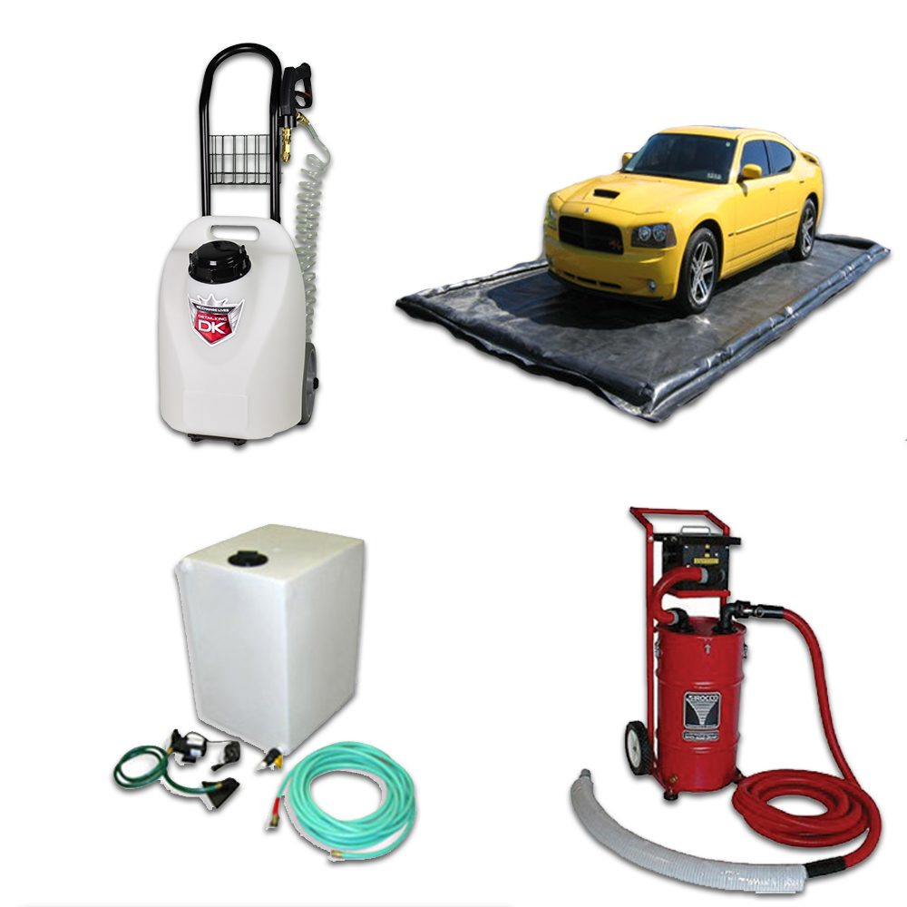 Car Detailing Equipment Packages & Start Up Kits for Mobile