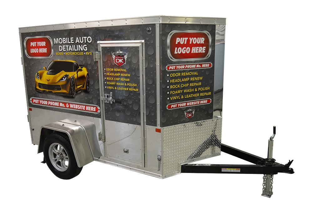 Detailing Trailers And Mobile Wash Systems Detail King