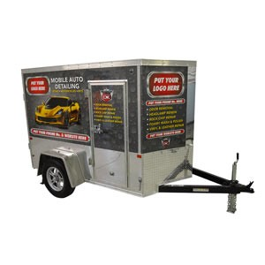 Mobile Car Wash Equipment Mobile Detailing Trailers