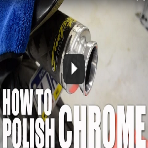 How To Clean & Polish Chrome On A Motorcycle