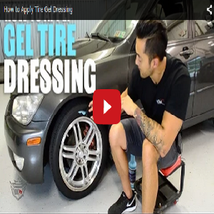 How To Apply Tire Gel Dressing