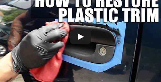 Restore & Fix Faded Plastic Trim On Your Car