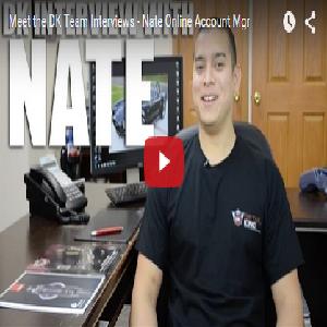 Meet the DK Team Interviews – Nate Online Account Mgr