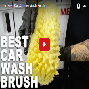 The Best Car & Truck Wash Brush