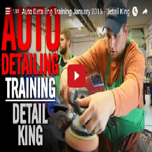 January 2016 Auto Detailing Craftsman Class