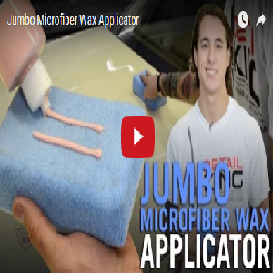 Jumbo Microfiber Wax Applicator