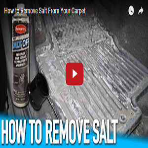How To Remove Salt From Your Carpet