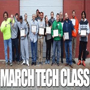 March 2016 Technician Class