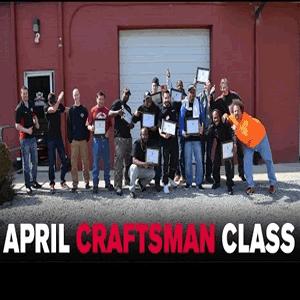 April 2016 Craftsman Class