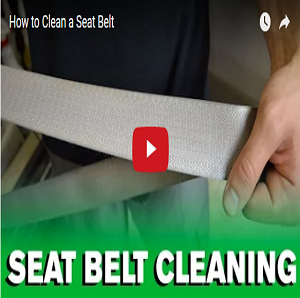 How To Clean A Seat Belt
