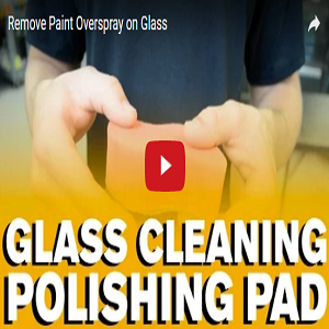 Remove Paint Overspray On Glass