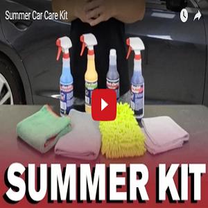 Summer Car Care Kit