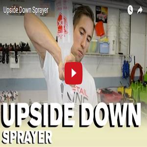 Upside Down Sprayer