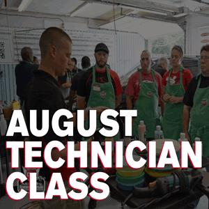 August Technician Class 2016