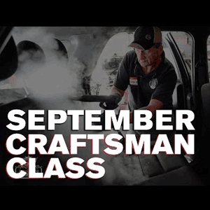 September 2016 Craftsman Seminar
