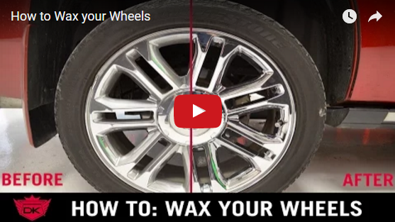 How to Wax your Wheels