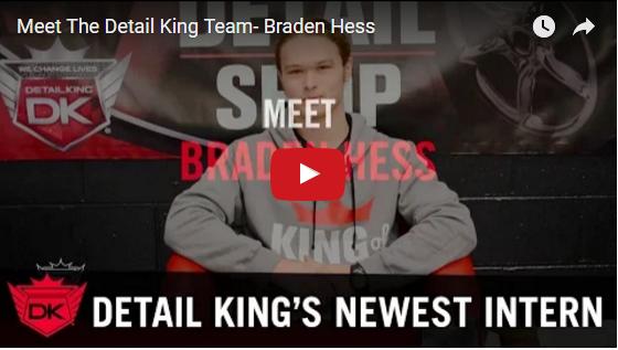 Meet The Detail King Team – Braden Hess