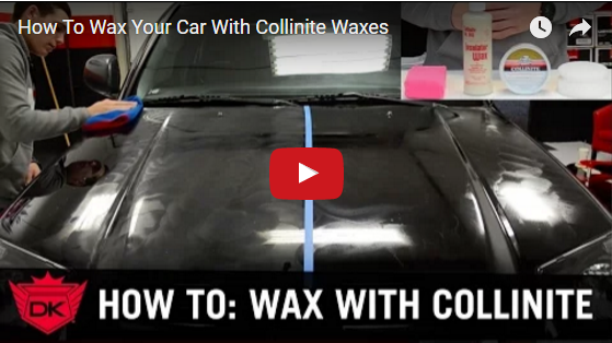 How To Wax Your Car With Collinite Waxes
