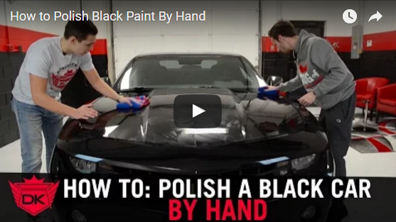 How to Polish Black Paint By Hand
