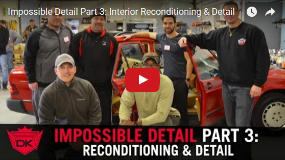 Impossible Detail Part 3: Interior Reconditioning & Detail