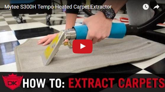 Mytee S300H Tempo Heated Carpet Extractor