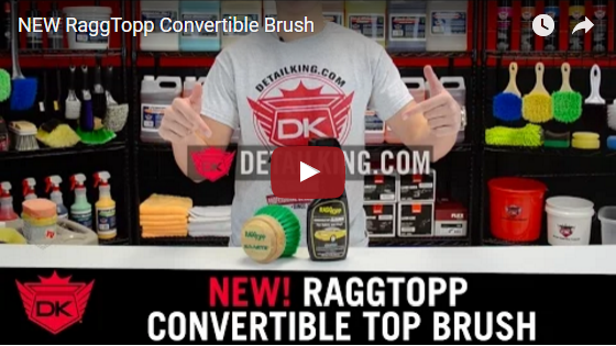 RaggTopp Convertible Brush