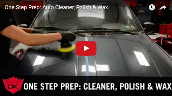 One Step Prep: Auto Cleaner, Polish, & Wax