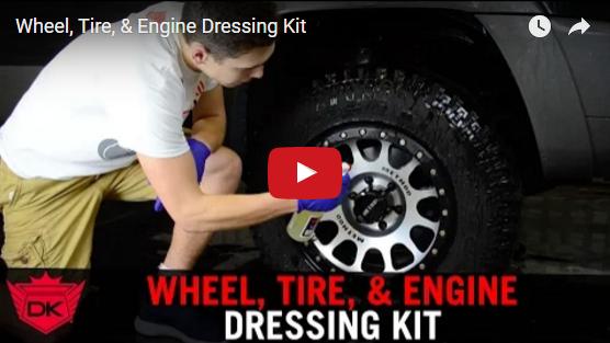 Wheel, Tire, & Engine Dressing Kit