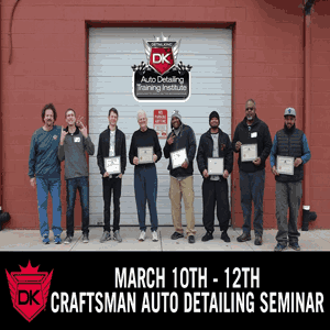 March 10th – 12th 2017 Craftsman Auto Detailing Seminar