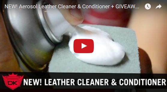 Aerosol Leather Cleaner & Conditioner