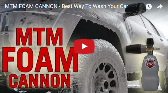 MTM FOAM CANNON – Best Way To Wash Your Car