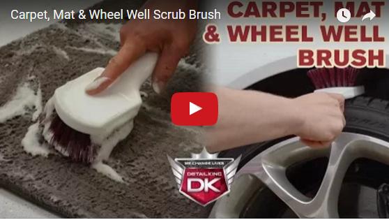 Carpet, Mat, & Wheel Well Scrub Brush