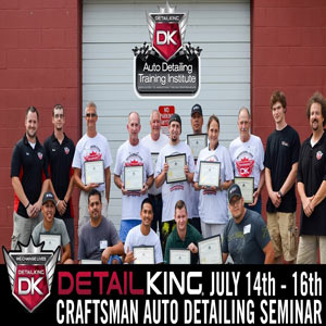 July 14th – 16th Auto Reconditioning Seminar