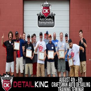 August 4th – 6th Craftsman Auto Reconditioning Seminar