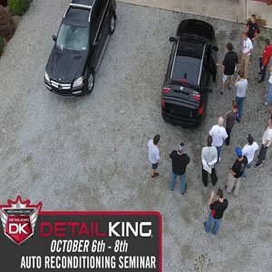 October 6th – 8th 2017 Craftsman Auto Reconditioning Seminar