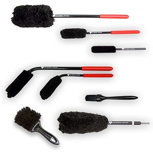 car interior cleaning brushes detail king autos post. Black Bedroom Furniture Sets. Home Design Ideas