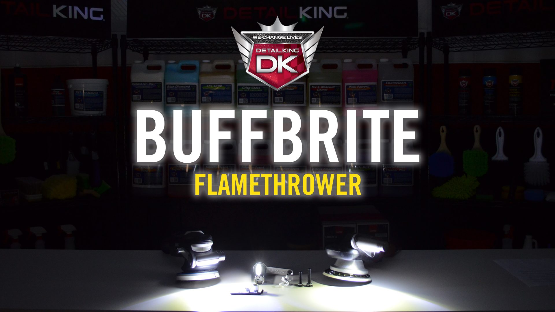 BuffBrite Flamethrower LED Buffing Light