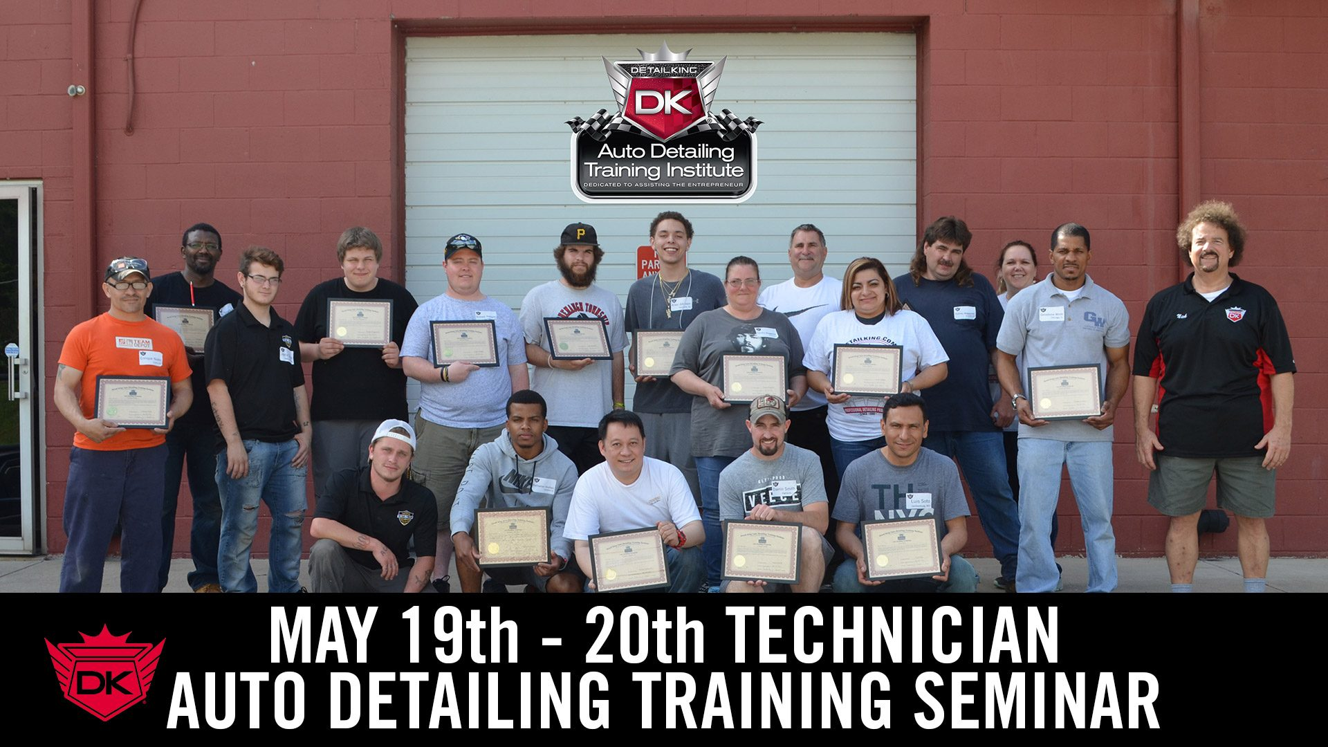 May 19th – 20th Technician Auto Detailing Training Seminar