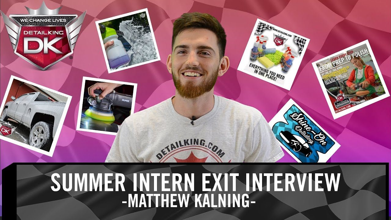 Summer Intern Exit Interview with Matthew Kalning