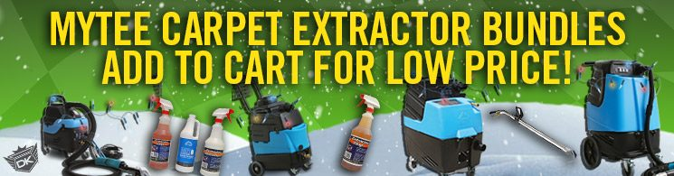 Mytee Heated Carpet Extractor Bundles